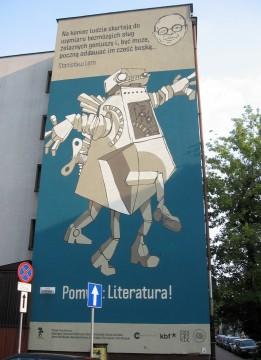 Ul. Józefińska 24 (Blok Cudów – kto zna, ten rozumie). Lem, 2012, Filip Kuźniarz, Fundacja Sztuki Nowej Znaczy Się i KBF, Festiwal Conrada.