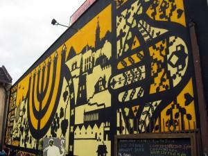Ul. Dajwór (Muzeum Galicja). Mural na muzeum, muzeum na mural (konkurs), 2013, Marcin Wierzchowski (zwycięzca konkursu).