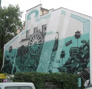 Ul. Krupnicza. M-city 658, 2012, M-city (Mariusz Waras), ArtBoom. To też podobno jedna z najważniejszych realizacji w Krakowie.