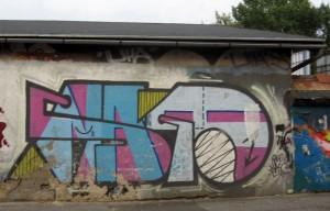 Ul. Głowackiego. To druga tak duża galeria street artu na trasie.