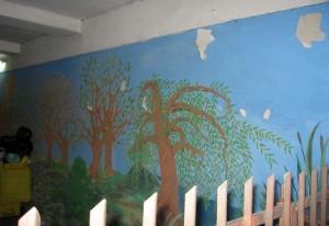 Ul. Lubomirskiego. Tu gdzieś przy Bosackiej (RDA) miały być jakieś murale związane z niepełnosprawnymi, ale nie znalazłem. Za to przypomnałem sobie, że zawsze był obrazek w bramie do Kaplicy Betlejem.