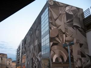 Ul. Pawia. Galeria Krakowska, 2013, Justyna Posiecz-Polkowska. Wynik konkursu, na który przyszło ponad 500 prac. W sumie źle nie wygląda.