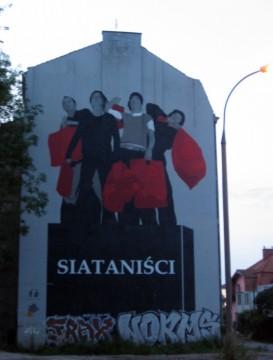 Ul. Barska (widać z ul. Konopnickiej). Siataniści, 2009, Grupa Twożywo (nie istnieje już), ArtBoom.
